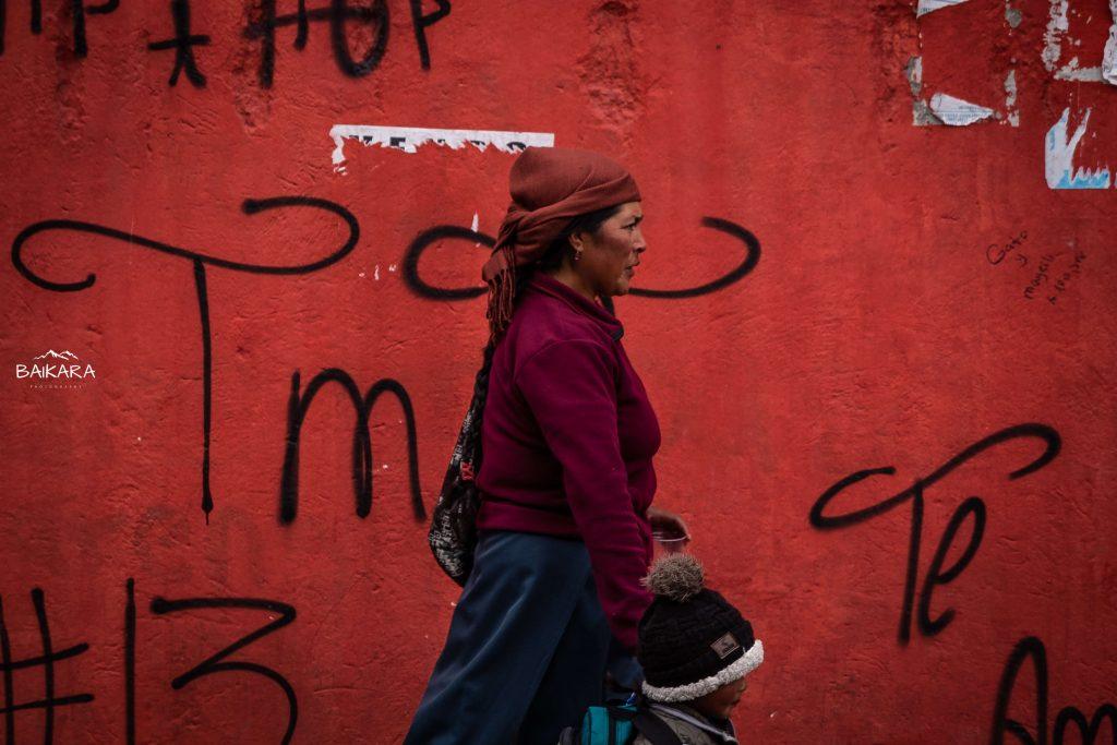 W sobotę na targu w Otavalo...