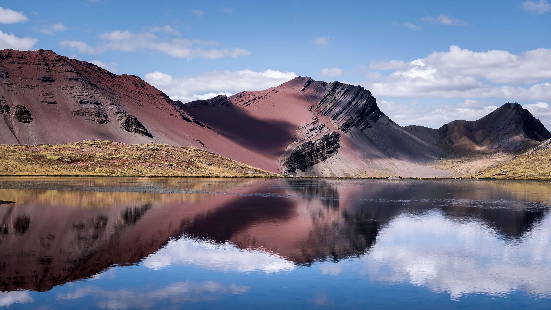 Rainbow Mountains, Trekking Ausangate, Cusco, Peruvian Andes