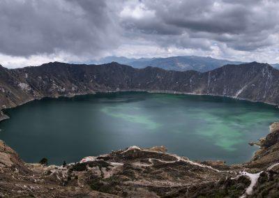 Cratère volcan Quilotoa