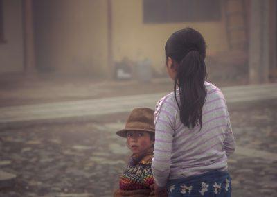 Enfant indigène Equateur