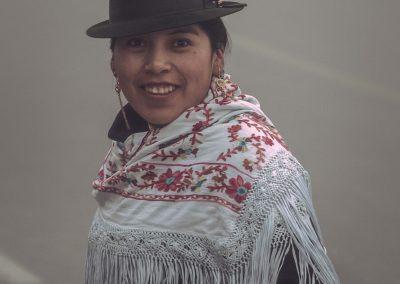 Indigène Equateur Portrait