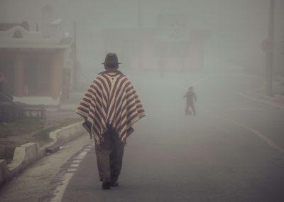 Indigènes en Equateur