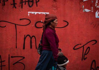 Street photography in Ecuador