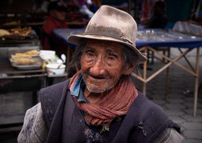 Traditional Ecuador Man