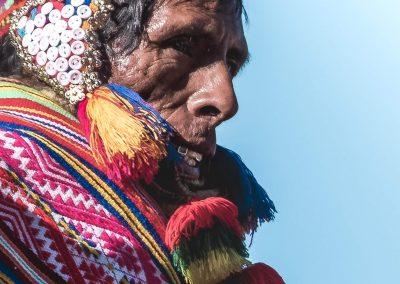 Qoylluriti Quechua portrait