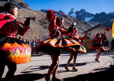 Qoylluriti traditional dance