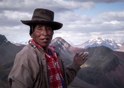 Quechua Local man