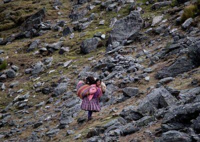 Femme Quechua Qoylluriti
