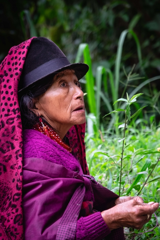 Baños, Ecuador, Indigenous people, culture