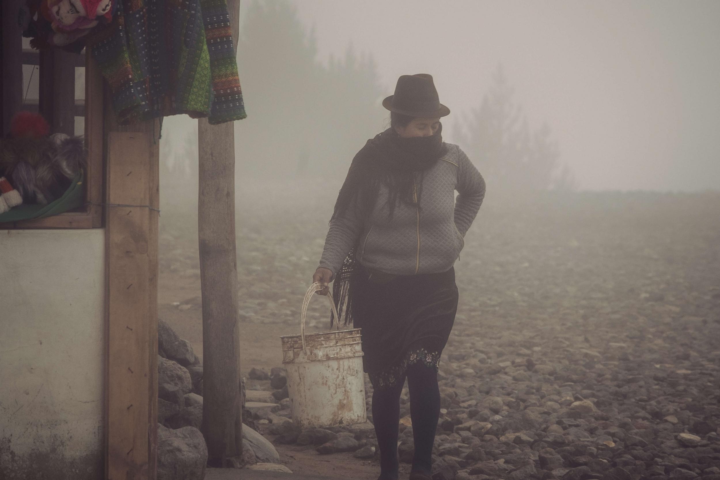 Quilotoa, Indigène, Equateur, Voyage en Equateur, Blog de voyage, Blog de photographie