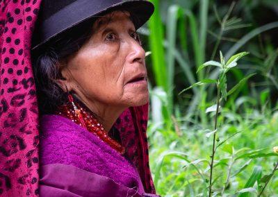 Ecuadorian indigenous woman