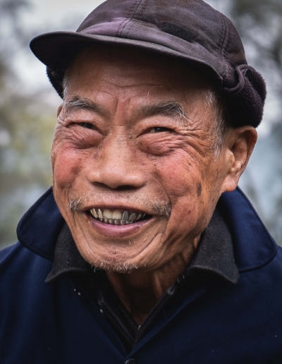 Chinese smile - Yangshuo