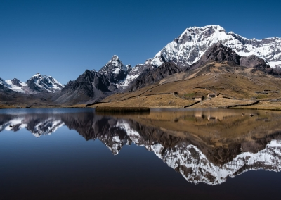 Ausangate mountain reflection - Peru