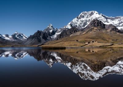 Ausangate mountain reflection - Peru