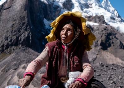 Ausangate woman - Peru