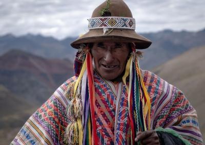 Homme Quechua - Rainbow Mountain