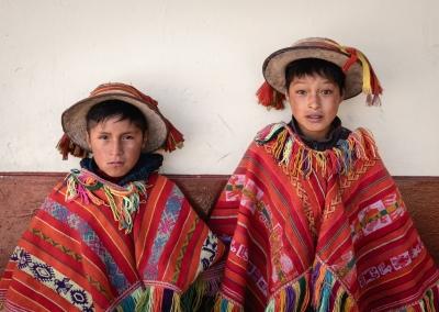 Portrait indigènes - Lares - Pérou