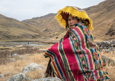 Quechua woman - Singrenacocha