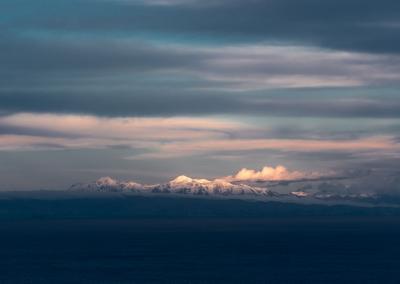 Sunset on Titicaca Lake