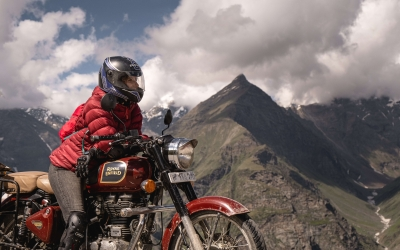 The Spiti Valley on Royal Enfield – India