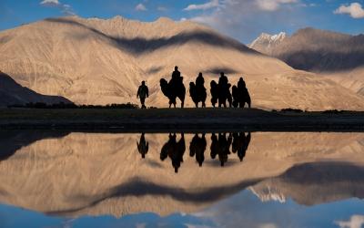 Ladakh en Royal Enfield – India
