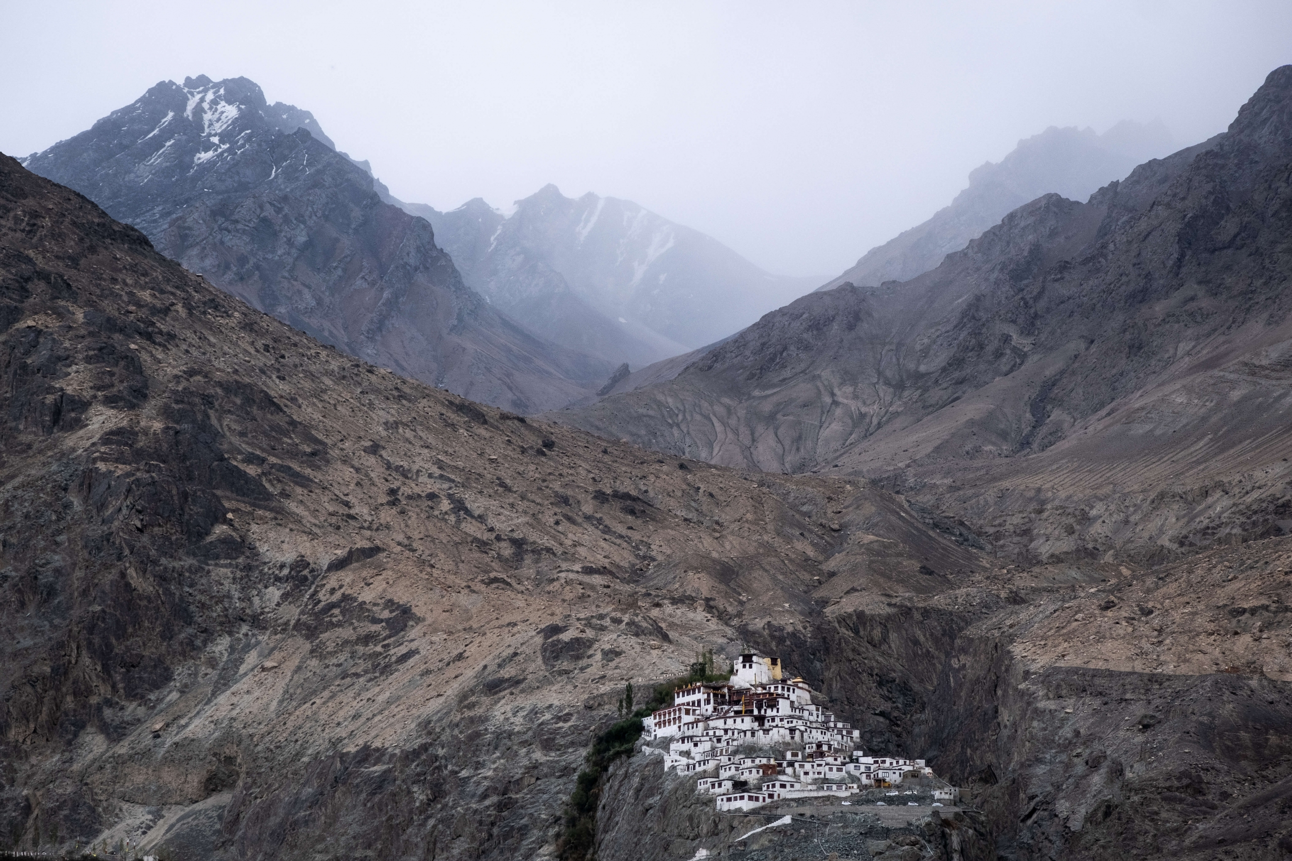 Diskit monastery - Nubra Valley