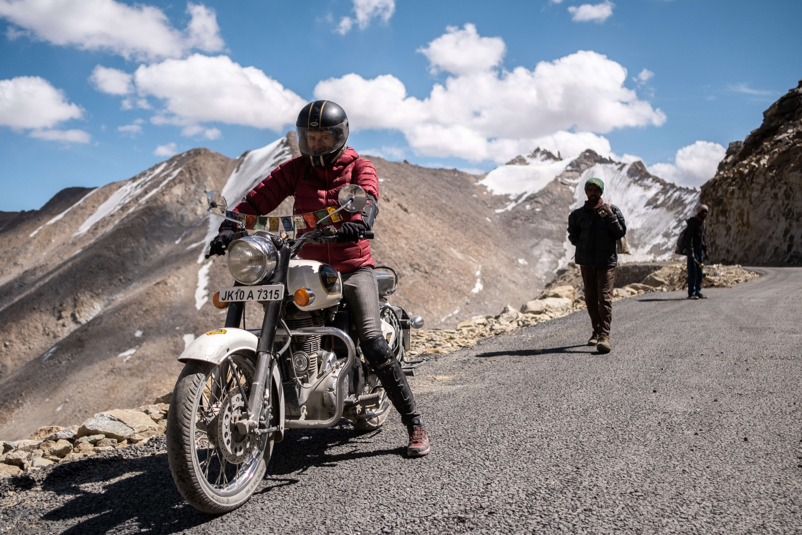 Iza the rider - Ladakh
