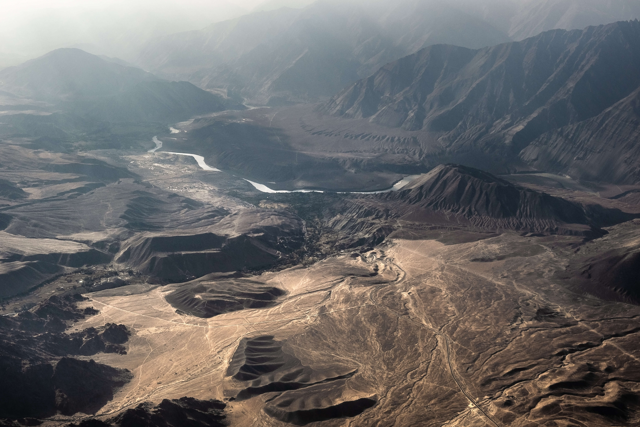 Ladakh from the air