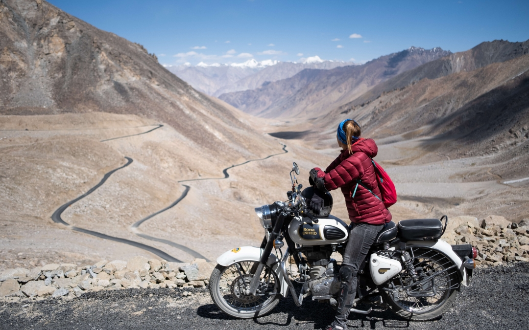 Ladakh on Royal Enfield – India