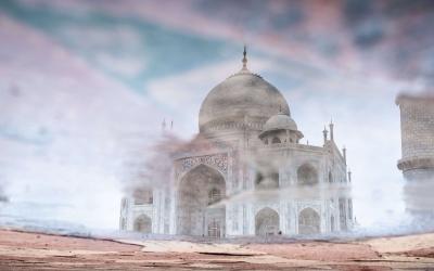 The Taj Mahal – India