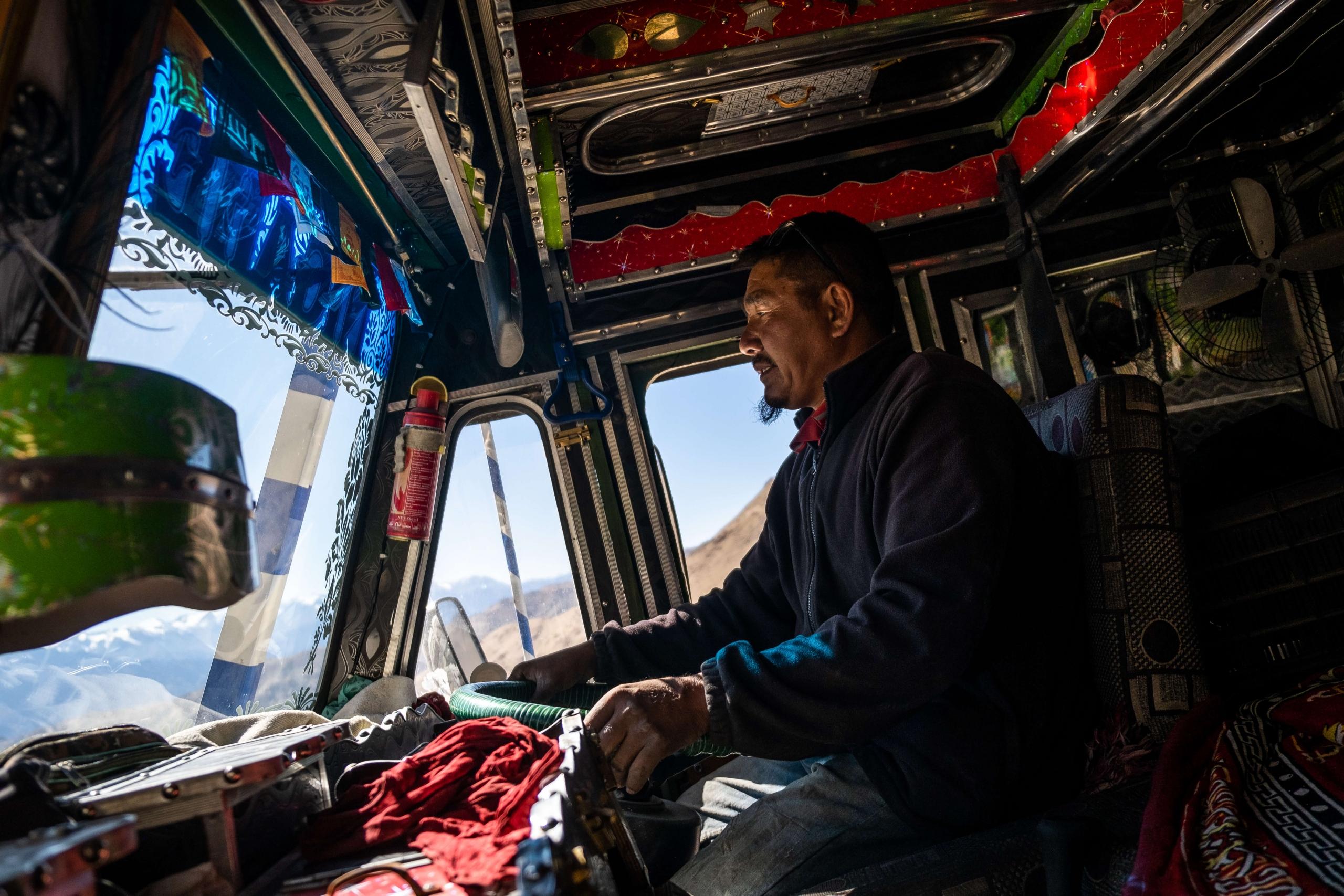 Truck driver - Ladakh