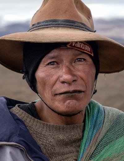 Man Quechua at Sibinacocha-3