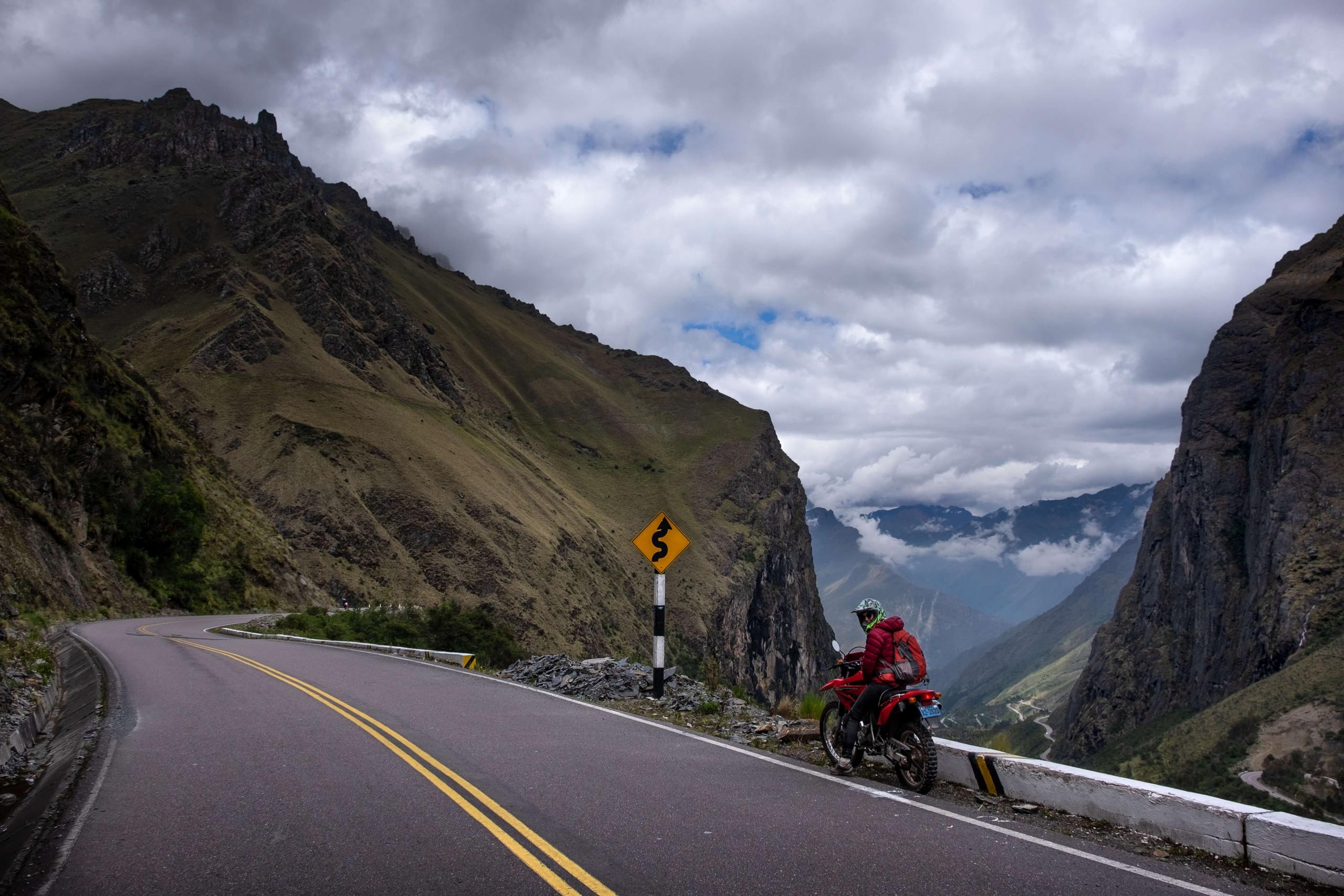 Motorcycle Machu Picchu