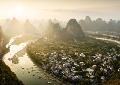 Panorama-Yangshuo